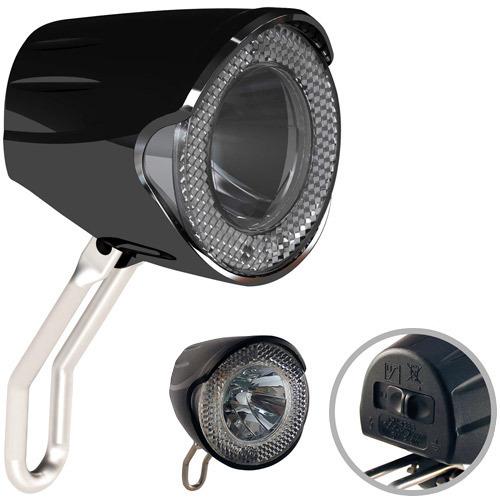 scheinwerfer led 20 lux f r nabendynamo standlicht und sensor radempire. Black Bedroom Furniture Sets. Home Design Ideas