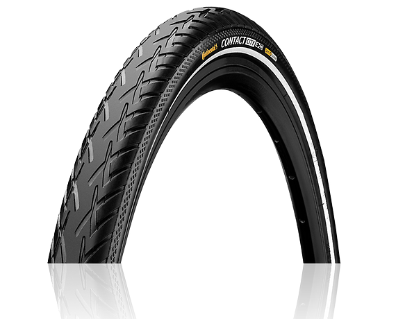 Continental 37-622 Contact City Reflex E-Bike black