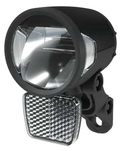 Herrmans LED Frontscheinwerfer H-Black MR8 Dynamo