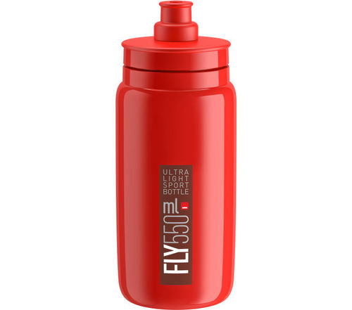 Elite Trinkflasche Fly Rot-Bordeaux 550ml