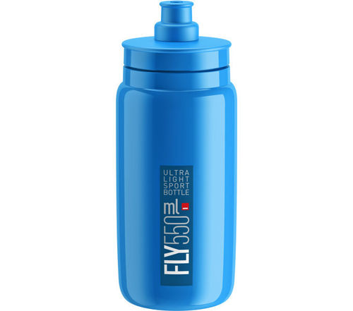 Elite Trinkflasche Fly Blau 550ml
