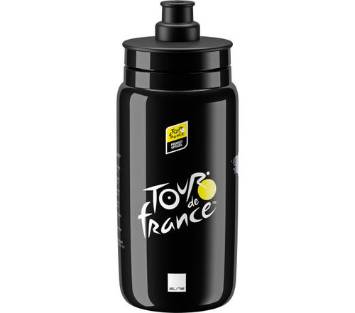 Elite Trinkflasche Fly Tour de France 2020 schwarz 550ml